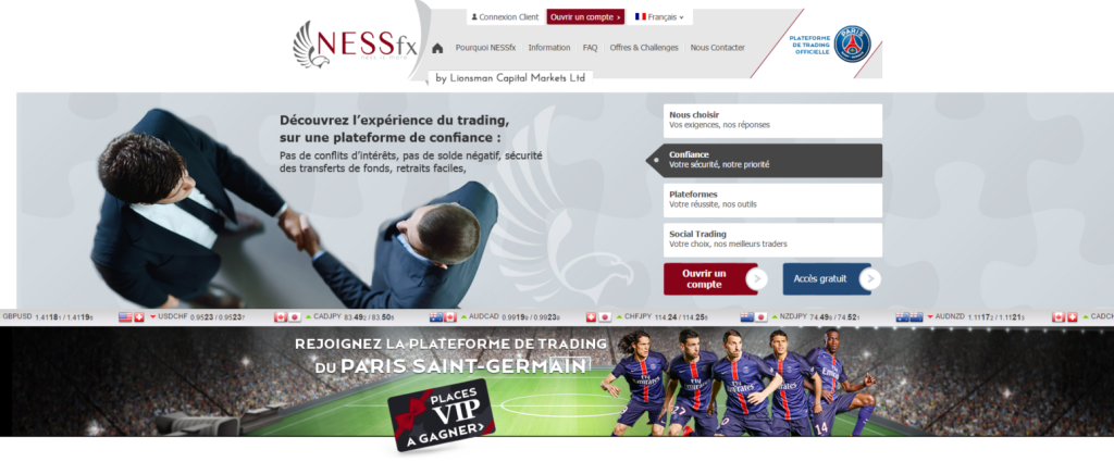 nessfx site officiel